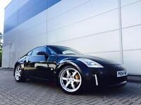 2004 04 Reg Nissan 350Z 3.5 V6 GT Pack BLACK + BLACK LEATHER+ NICE SPEC