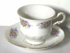 Queen Anne china Teacup and saucer