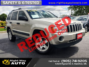 2006 Jeep Grand Cherokee Laredo | 4x4 | SAFETY & E-TESTED