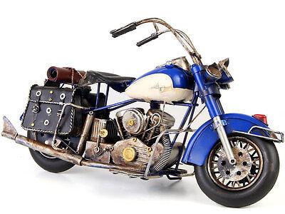 US-STYLE MOTORRAD CHOPPER CUSTOM BIKE HIGHWAY CRUISER BLECHMODELL TOP MOTOR BIKE