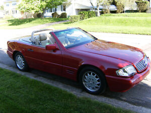 1996 MERCEDES BENZ 320 SL