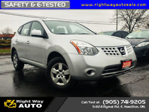 2008 Nissan Rogue S | SAFETY & E-TESTED