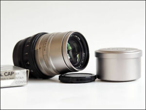 Zeiss Sonnar T 90mm f/2.8 G Lens converted m43