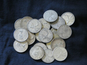 I buy Junk Silver coins US or Canada. Also Cnd Maple Leaf Silver