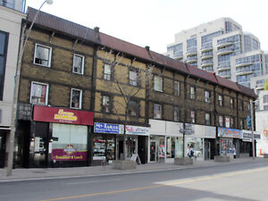 Yonge and St. Clair Newly Painted 1 bdrm. Immediate Avail.