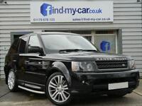 2010 10 Land Rover Range Rover Sport 3.0 TDV6 Auto HSE Black with Cream