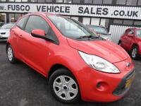 2010 Ford Ka 1.2 Edge - Red - Long MOT 2017 + Platinum Warranty!