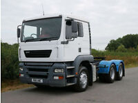 ERF ECT 11 420 6 X 4 Double Drive Tractor Unit