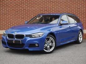 2013 63 BMW 3 Series 3.0 335d M Sport Touring 5dr Sport Auto xDrive (Blue)
