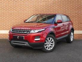 2014 14 Land Rover Range Rover Evoque 2.2 ED4 Pure Tech (2WD) 5dr (Red, Diesel)
