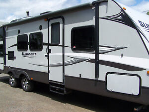 Crossroads Slingshot Travel Trailer, 29 feet long