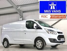 FORD TRANSIT CUSTOM LIMITED 2.2TDCi 155PS 290 L2H1 LWB LONG WHEELBASE 155 BHP