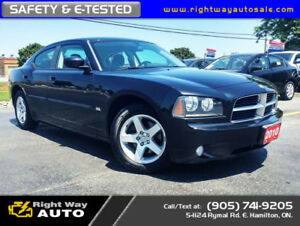 2010 Dodge Charger SXT | LOW KMS | SAFETY & E-TESTED
