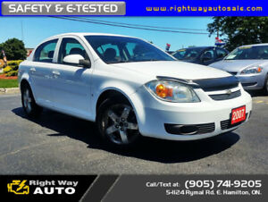 2007 Chevrolet Cobalt LT | LOW KMS | SAFETY & E-TESTED
