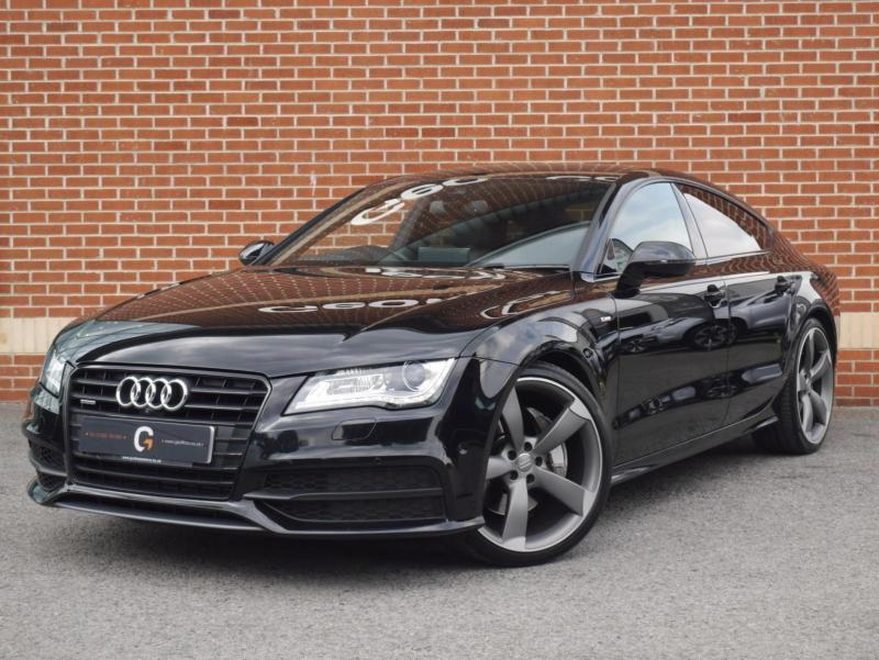 2013 13 Audi A7 3.0 BiTDi Black Edition Sportback 5dr sel ...