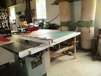 Full Woodworking Shop equipment in in very good condition