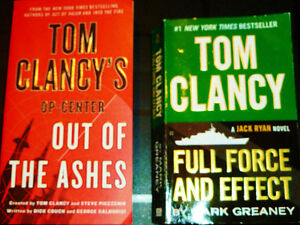 ☂ Tom Clancy - 2 Paperbacks Available