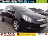 2009 VAUXHALL CORSA 1.2 SXI 16V PETROL HATCHBACK CAR FINANCE FROM £25 P/WK