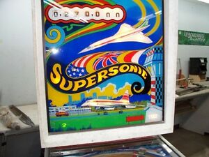 PINBALL SUPERSONIC West Island Greater Montréal image 2