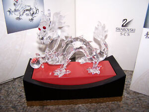 Swarovski 1997 Annual Member Edition - Dragon with Base