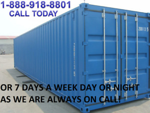 BRANTFORD SHIPPING CONTAINERS FOR ALL STORAGE NEEDS!!