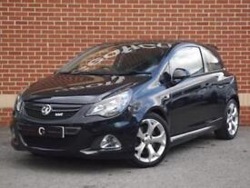 2013 63 Vauxhall Corsa 1.6i Turbo 16v VXR 3dr (Black, Petrol)