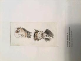 Original sketches by William Thornton Brocklebank