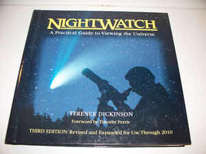Nightwatch by Terrance Dickinson 3rd ed (Telescope Viewing)