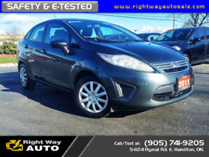 2011 Ford Fiesta SE | WINTER TIRES | SAFETY & E-TESTED