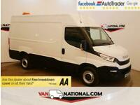 2017 17 IVECO DAILY 2.3 35S14V 135 BHP XLWB (4100) H/R *EURO 6* HIGH ROOF DIESEL