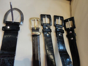 """Selling 5 Womens Belts 42""""-43"""" (brown One is 38"""")$3/ea or $13all"""