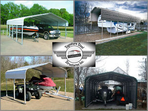 steel buildings and carports