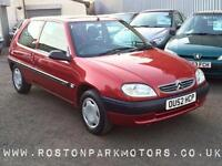 2002 CITROEN SAXO 1.1i Forte just 45k miles long MOT REDUCED