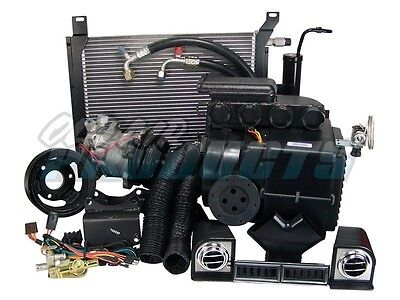 1967 1968 Ford Mustang 289 w/ PS Cable Operated A/C Heat System Air Conditioning