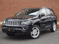 2013 13 Jeep Compass 2.2 CRD Limited Station Wagon 4x4 (Black, Diesel)