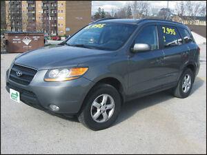 2009 Hyundai Santa $7,995 + hst or $219/month OAC*