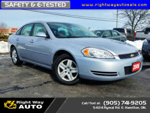 2006 Chevrolet Impala LS | 166Km | NEW TIRES | SAFETY & E-TESTED