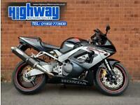 2001 Honda CBR 900 RR Fireblade Stunning Condition Extras 12 Month MOT Warranty