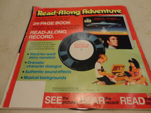 Vintage Star Trek 33 1/3 rpm Record w/ 24 page Read Along Book Kitchener / Waterloo Kitchener Area image 10