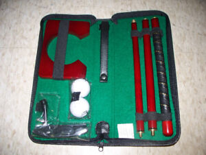 New Executive Travel Putter Kit with Case