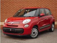 2014 14 Fiat 500L 1.4 Pop Star MPV 5dr (Red, Petrol)
