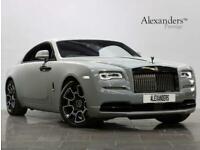 2019 Rolls-Royce Wraith 6.6 V12 Black Badge Auto 2dr Coupe Petrol Automatic