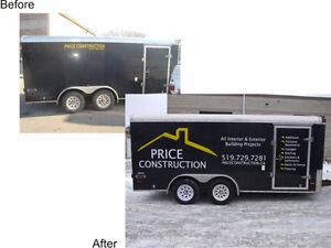 Truck Lettering and Signs Cambridge Kitchener Area image 3