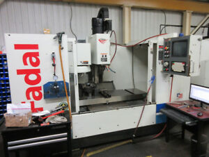 FADAL VMC-4020HT CNC VERTICAL MACHINING CENTER, 2002'