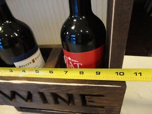 Solid Wood Dual Wine Bottle Decorative Holder - Perfect Shape Kitchener / Waterloo Kitchener Area image 7