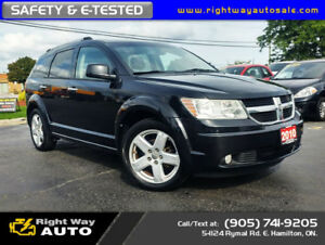 2010 Dodge Journey R/T | AWD | SAFETY & E-TESTED