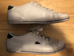 5ee8815ea71f54 Size 9.5 used Lacoste mens shoes