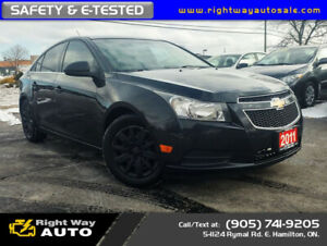 2011 Chevrolet Cruze LS+ | SAFETY & E-TESTED