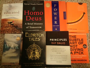Very good books, 10-5$ each, make offer, ask for price.