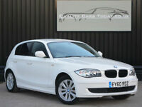 2010 '60' BMW 1 Series 116 2.0i ES White 5dr *Just 29k miles + Full History*